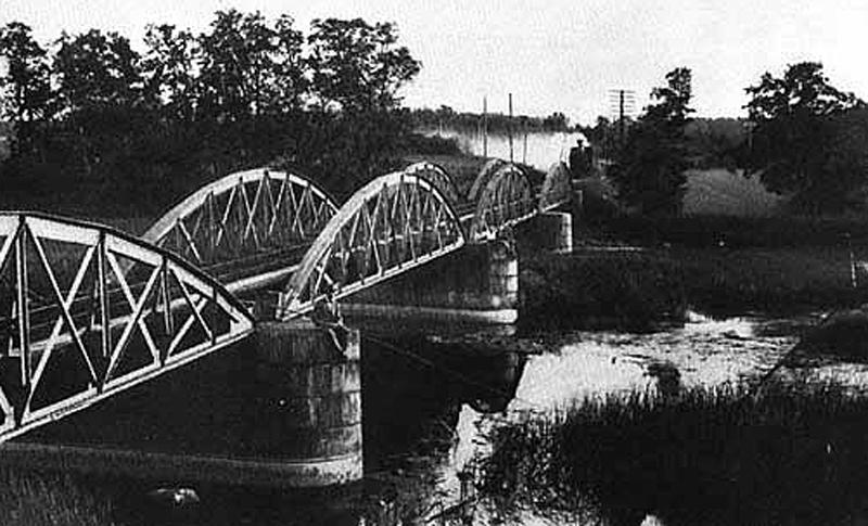 Järnvägen Gössäter, foto: 1940-talet
