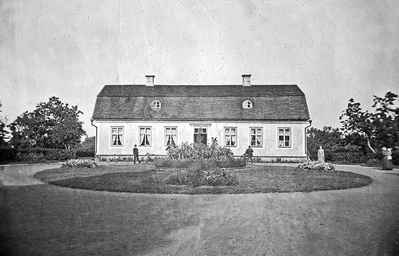 Bild 5804 Trolmens Herrgård Medelplana foto: 1890-talet