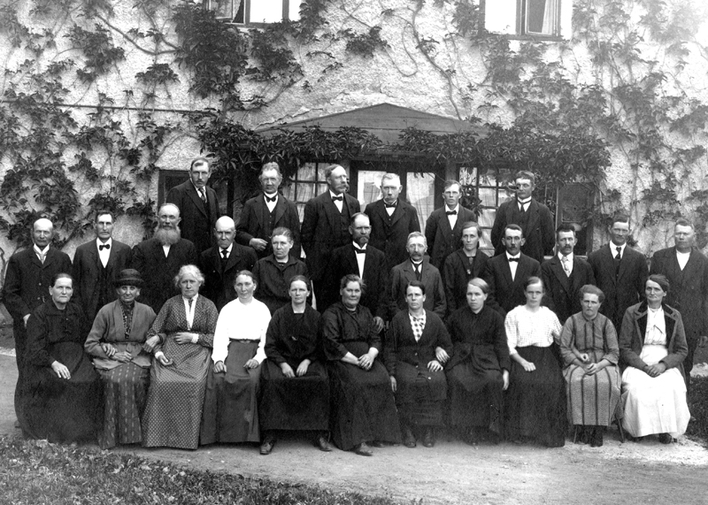 Bild 5807 Hjelmsäters Egendom Medelplana foto: 1910