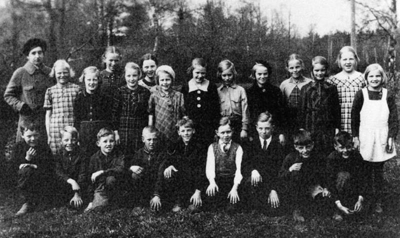 Bild3615 Hönsäters Skola Klass 3o 4 1935-36