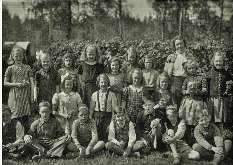 Bild3621 Hönsäters Skola Klass 3-4 1941