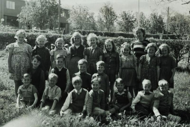 Bild3626 Hönsäters Skola Klass 1 o 2 1948