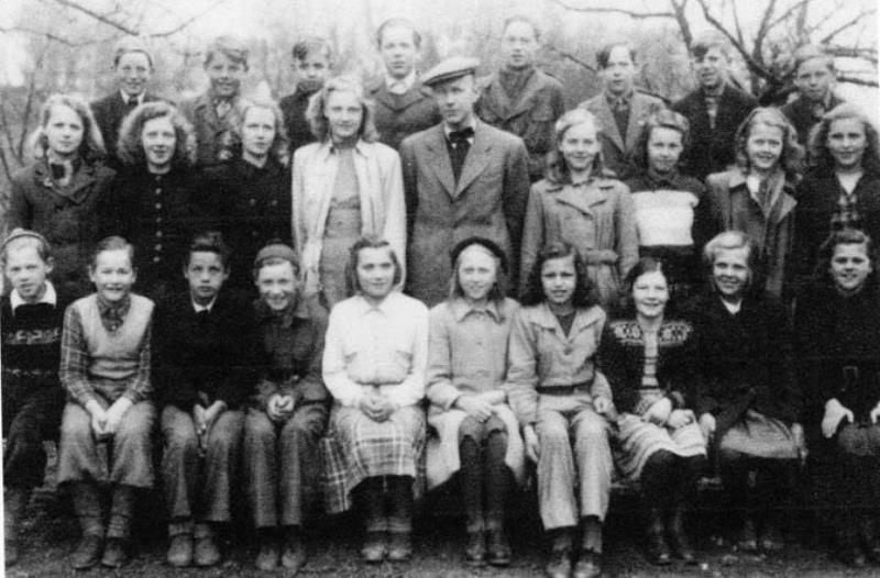 Bild3646 Hönsäter Storskola Klass 5 o 6 1945