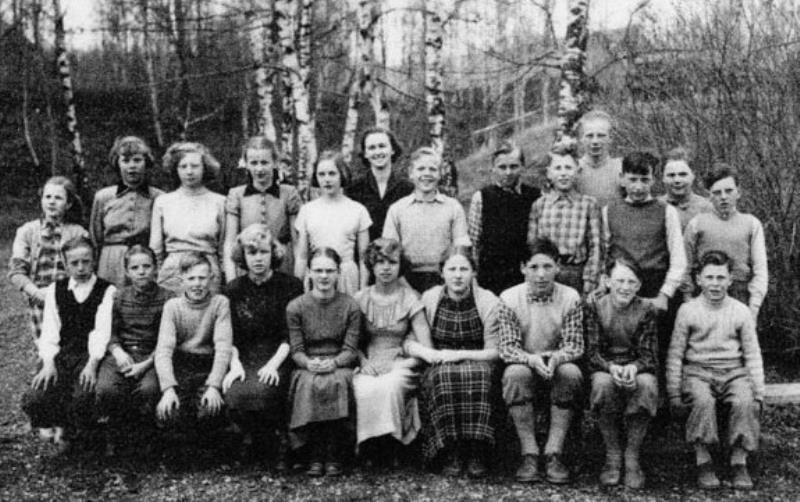Bild3651 Hönsäter Storskola Klass 1951-52