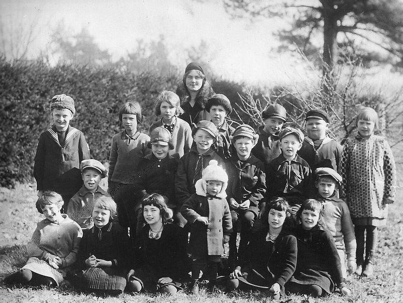 Bild 7: Klass 1o2 Årtal 1932-33