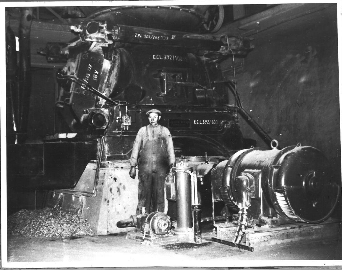 Bild1964 Cementfabriken Råkvarn