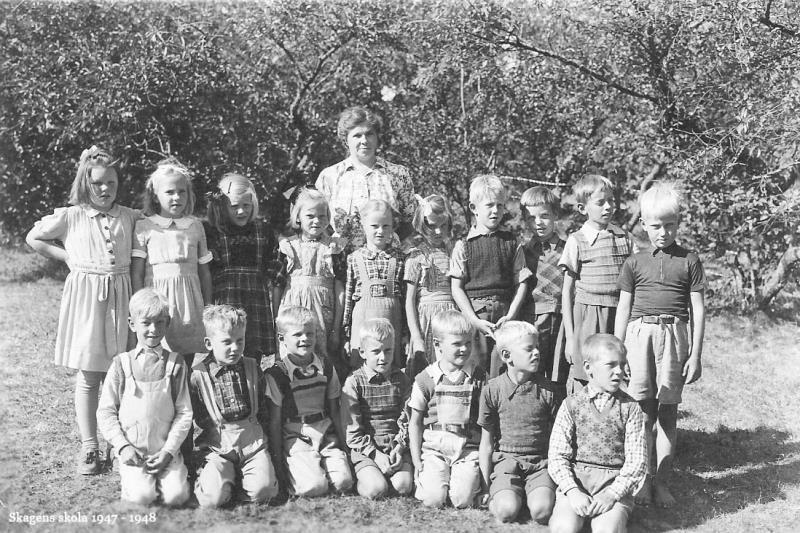 Bild3733 Skolklasser Skagens Skola
