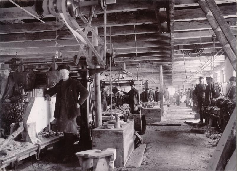 Cementfabriken Gössäters Stenhuggeri