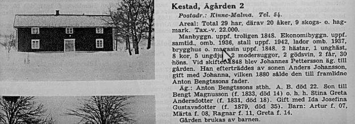 Ågården Kestad 2