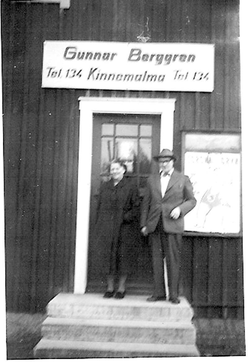 Tallbacka Berggrens affär Kestad