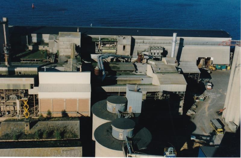 Bild4357 Rivning av Cementfabriken Hällekis