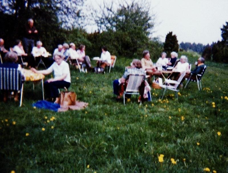 Bild3179 Pensionärer från Hällekis på 1980-talet