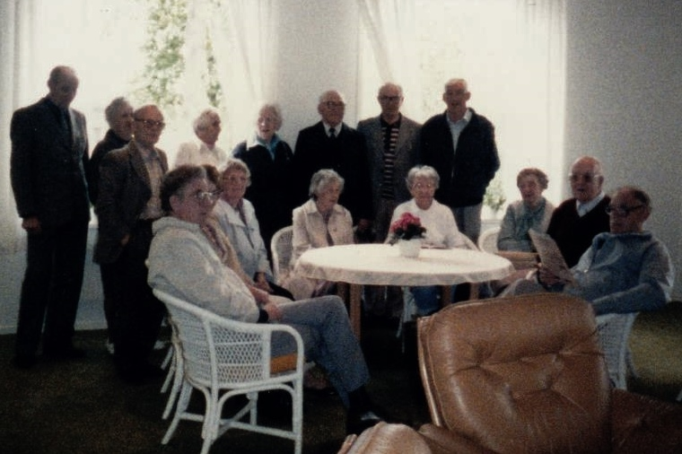 Bild3199 Pensionärer från Hällekis på 1980-talet