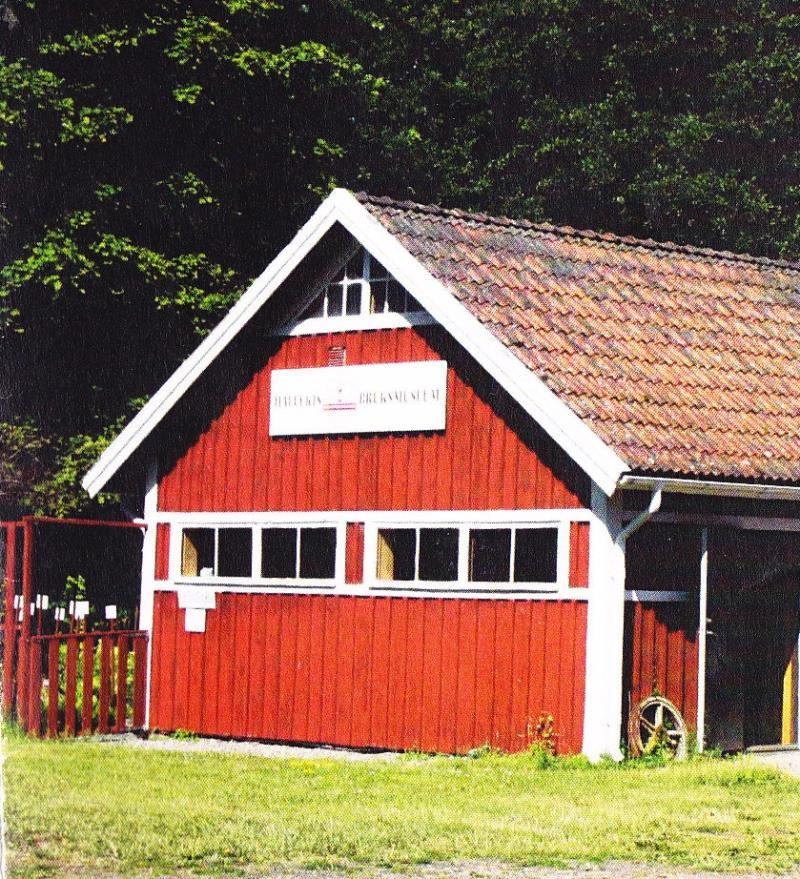 Falkängen i Hällekis Bruksmuseum