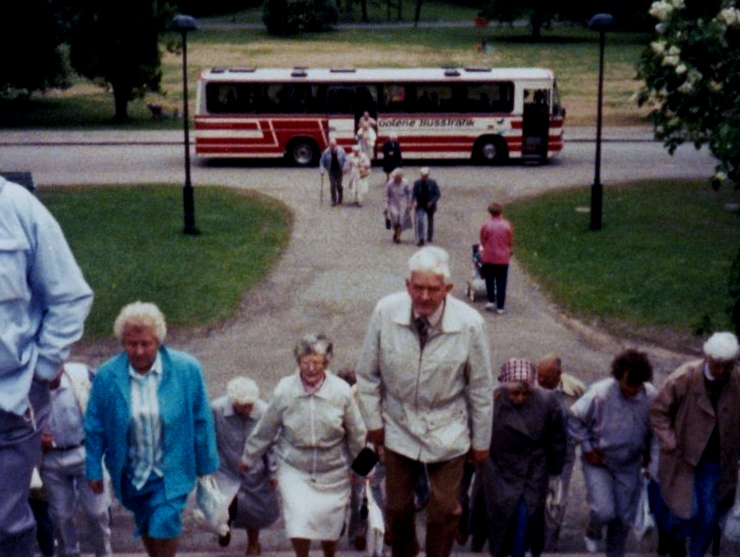 Bild3217 Pensionärer från Hällekis på 1980-talet