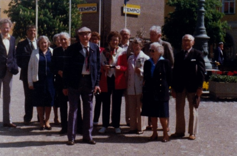 Bild3222 Pensionärer från Hällekis på 1980-talet