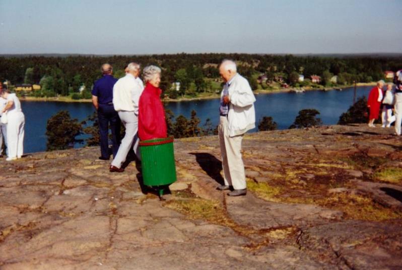 Bild3280 Pensionärer från Hällekis på 1980-talet