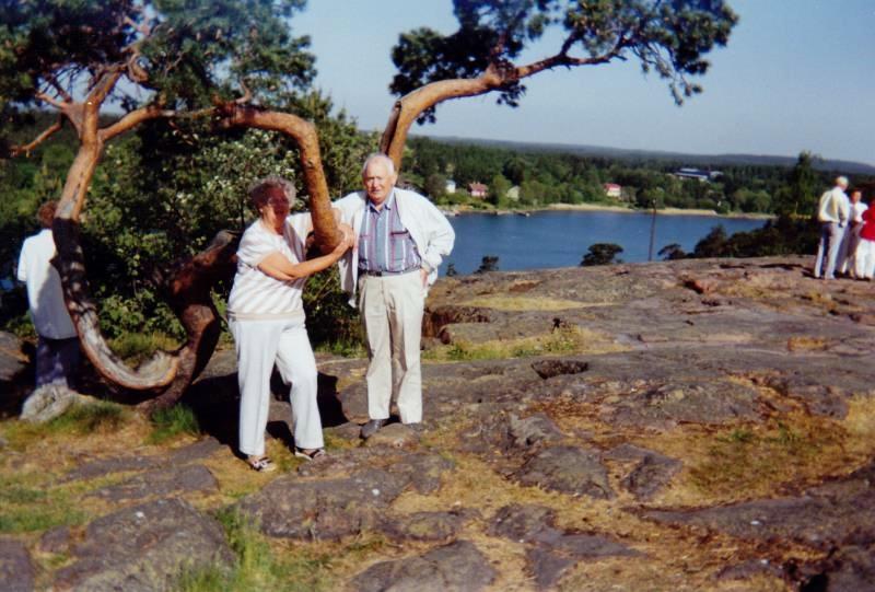 Bild3282 Pensionärer från Hällekis på 1980-talet