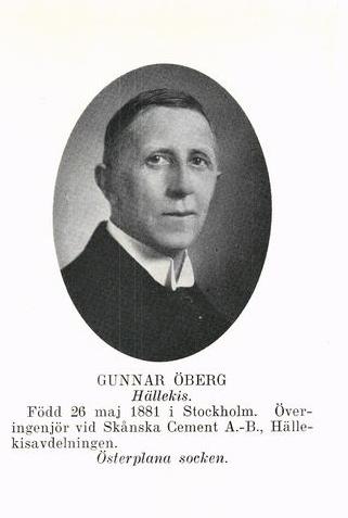 Bild5945 Gunnar Öberg överingenjör Skånska Cement Hällekis