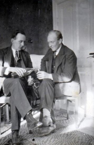 Bild5951 Fr. v. Sven Ljungberg och Bertil Wettergren Hällekis
