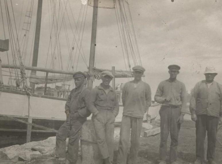 Bild104 Sjöfarten Kinnekulle Råbäcks Hamn
