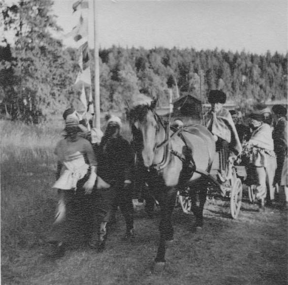 Bild977 Scoutlägret vid Hellekis Hamn Juli 1957