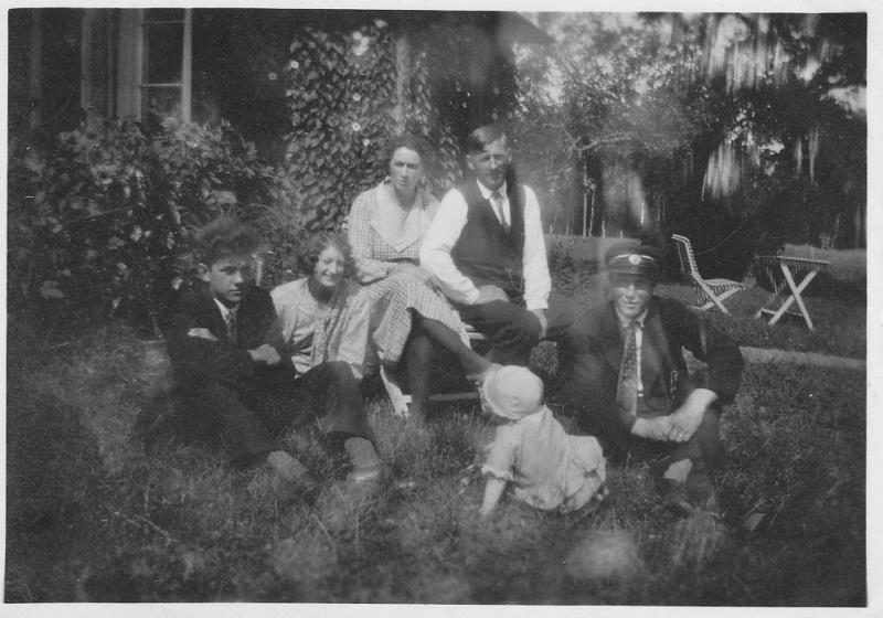 Bild194 Till höger Gustav Johansson, och Conn Sandberg