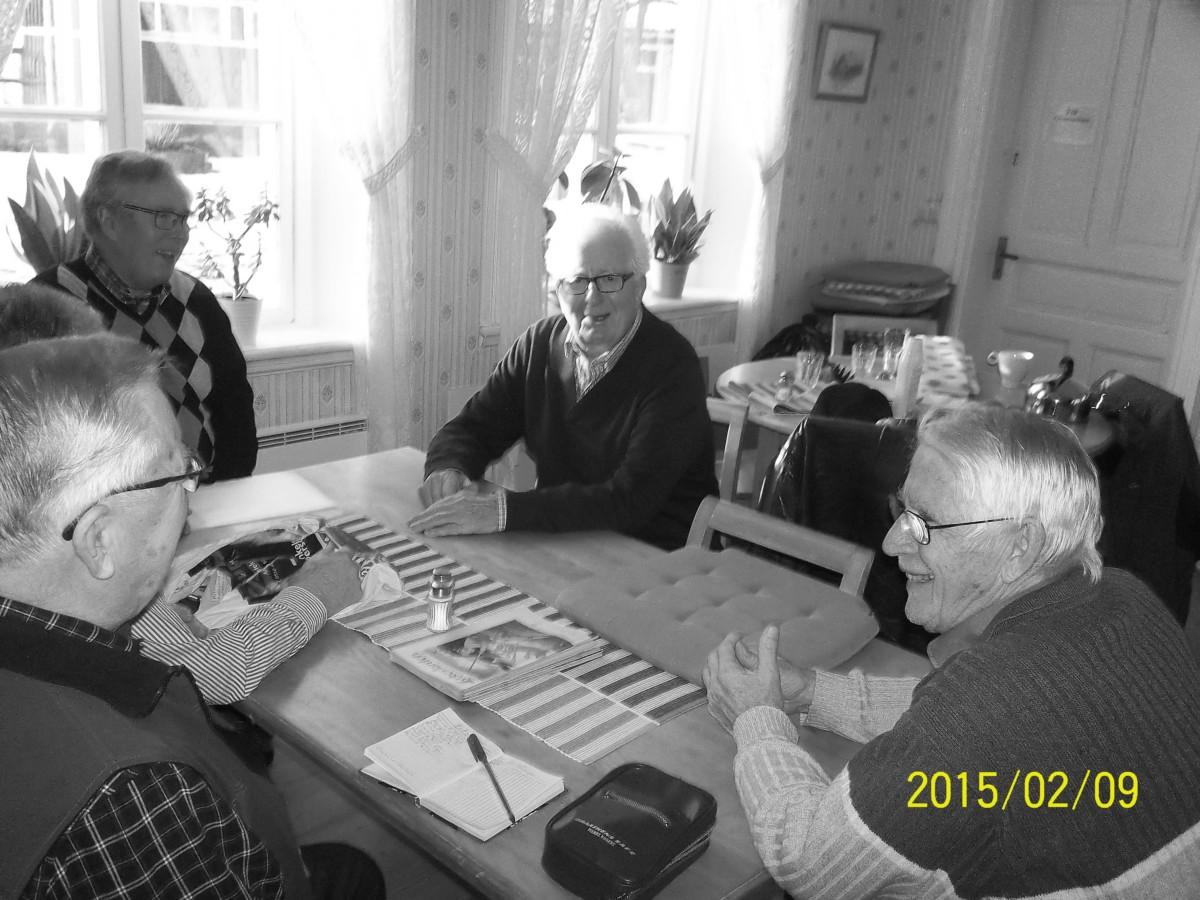 Bild3974 Hällekisgruppen Fr.v. Ingemar Green,Lars Apell,Roland Andersson,Bengt Sjöstedt