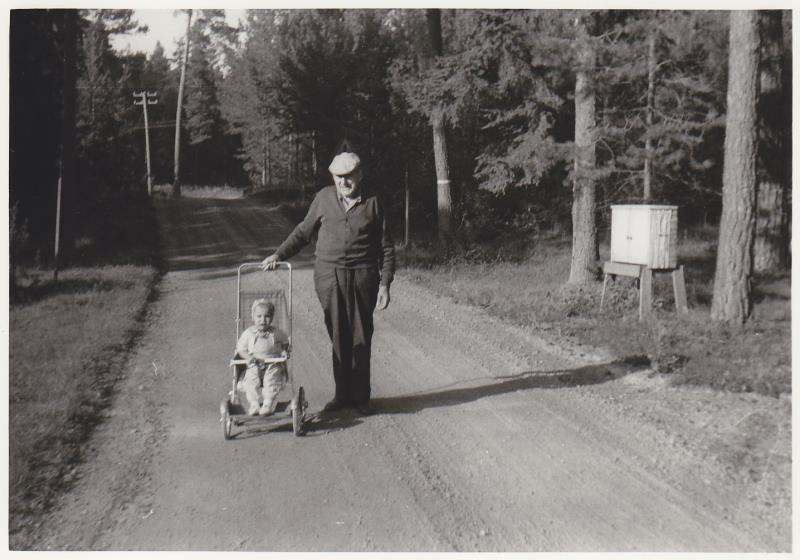 Bild5993 Utanför Skoghem 1969. Mot norr.