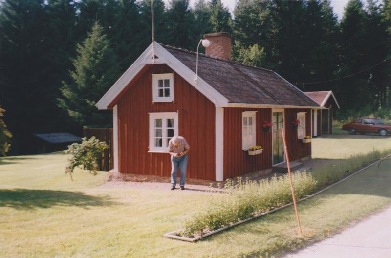 Bild5995 Skoghem år 2000 ungefär. Åke Lind