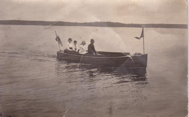Bild6008 Sven Ljungberg kör Disp. båt på Cementa
