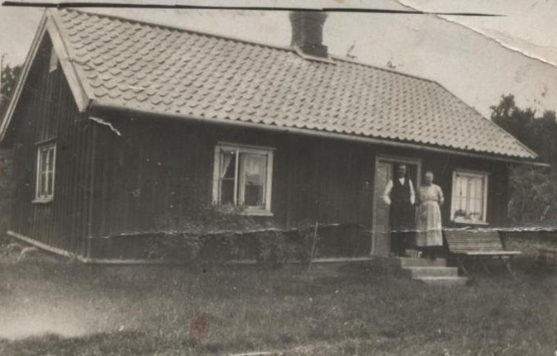Bild7 Stugan låg nere vid Hamnen Cementa Oskar och Ida Ljungberg