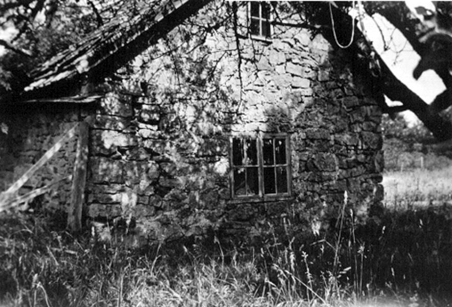 Bild 048 Sandstensstuga vid Sjörås kvarn