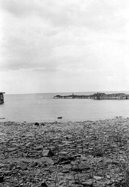 Bild 085 Råbäck, piren och hörn av bryggan.
