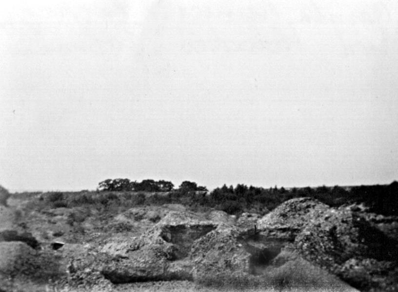 Bild 132 Trolmen Ruiner av kalkugnar
