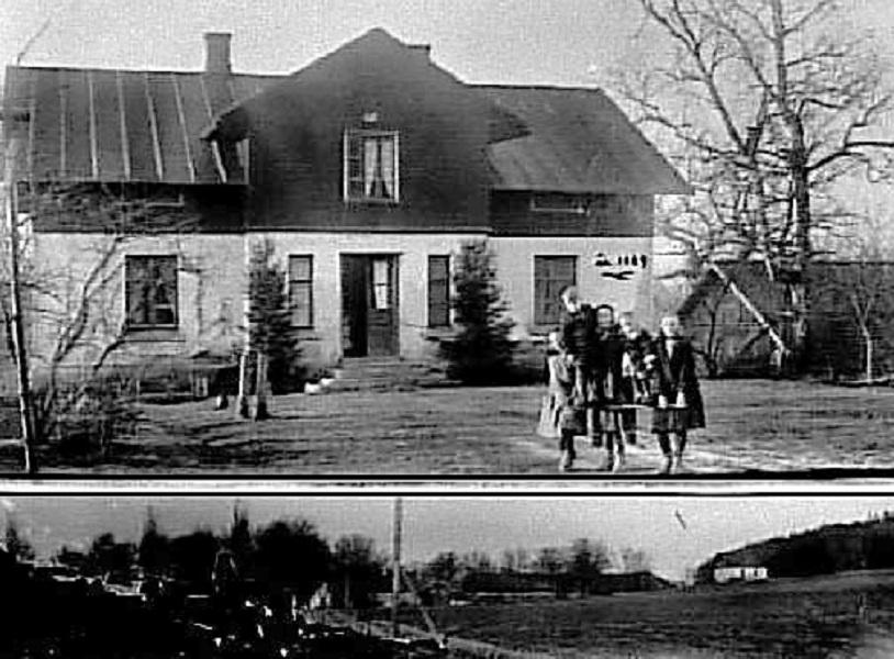 Bild 1937 Hjelmsäters Egendom Medelplana