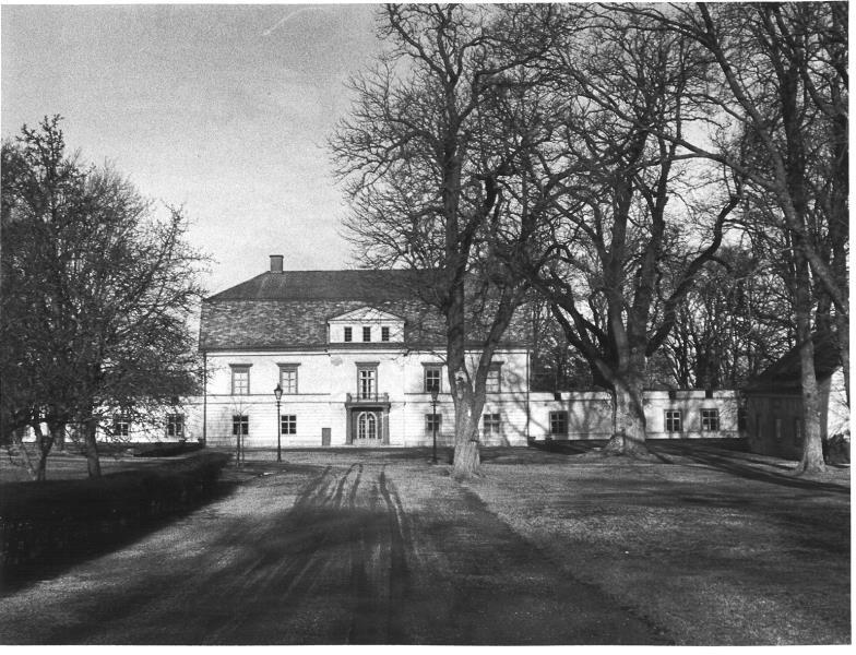 Bild 1953 Hönsäters Herrgård Hällekis