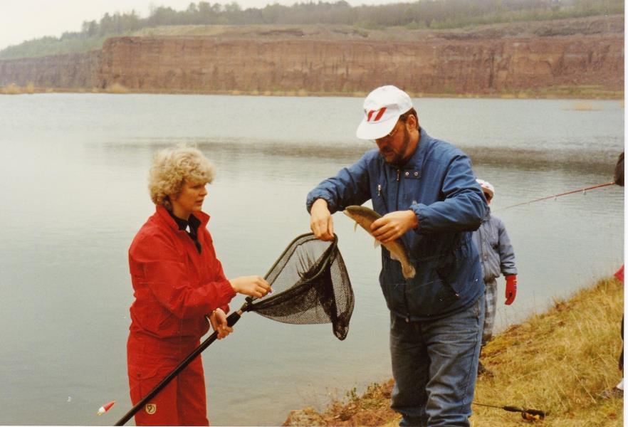 Bild6019 Invigning av fiskesjön cementas brott